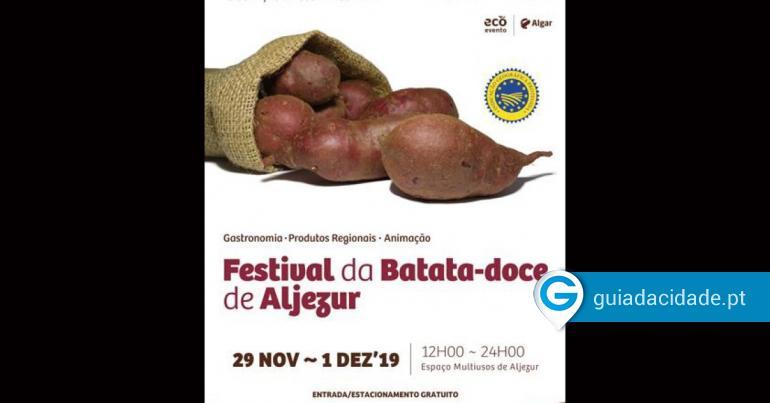 Festival da Batata-doce de Aljezur - oGuia   Faro - Guia da Cidade