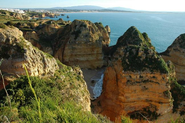 Prenota Online Lagos Portugal Map Beach 171 Best Binary