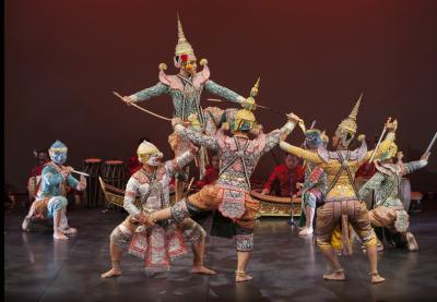 Dança Tradicional da Tailândia no Museu do Oriente