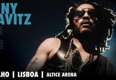 Lenny Kravitz em Lisboa no Altice Arena
