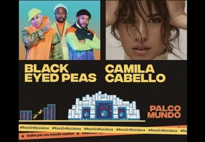 Rock in Rio Lisboa recebe a estreia de Camila Cabello em Portugal e encerra a mesma noite com Black Eyed Peas
