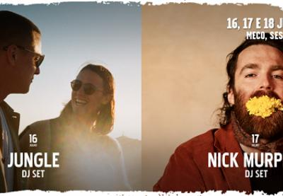 Dois DJ Sets de luxo: Jungle e Nick Murphy no Super Bock Super Rock' 20