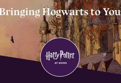 Como não se pode ir até Hogwarts... Hogwarts e Harry Potter vão até à sua casa