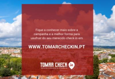 Campanha Tomar Check In