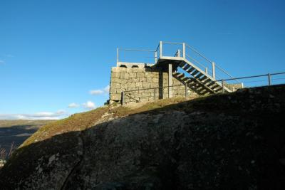 Ruínas do Castelo de Pena de Aguiar