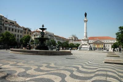 Praça Dom Pedro IV - Rossio