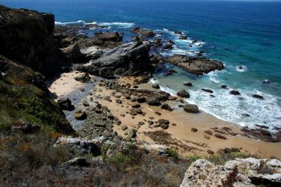 Passeio pelo litoral da Costa Vicentina em Vila Nova de MilFontes