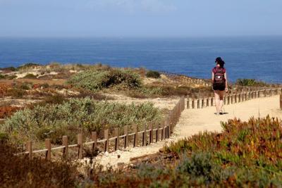 Passeio pelo litoral da Costa Vicentina a norte da Zambujeira do Mar