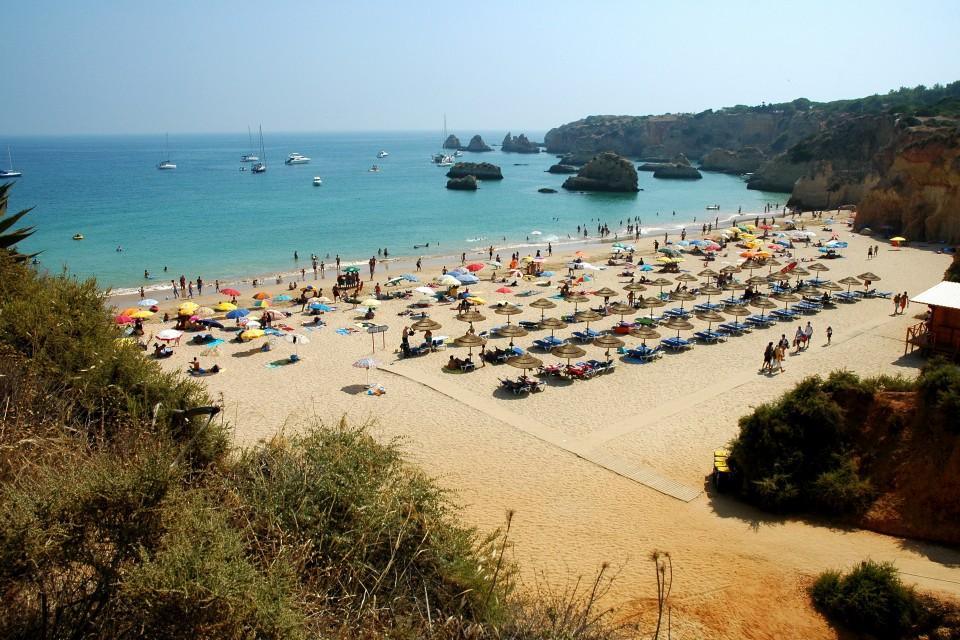 Praia Do Alemao Ou Barranco Das Canas Portimao Guia Para